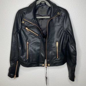 Blank NYC Jackets & Coats - BLANK NYC The Essentials Faux Leather Moto Jacket